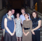 Criss lab at the Wurzburg Residenz, Germany for the 2012 IPNC