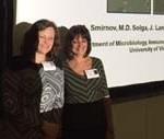 Saya Smirnov and Joanne Lannigan