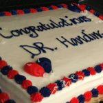 cake to celebrate thesis defense