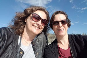 Asya and Alison at International Pathogenic Neisseria Conference