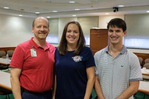 Jameson Lab collaborators: Dr. Mark Jameson, Dr. Christine Lehman, and Matt Hagood, UVA undergraduate