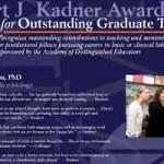 2009 Kadner Award Poster