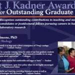 2011 Kadner Award Poster
