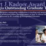 2010 Kadner Award Poster