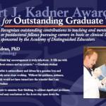 2007 Kadner Award Poster