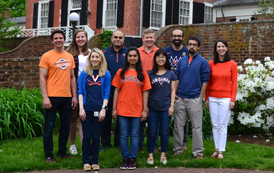 group picture of the Kashatus lab in May 2019