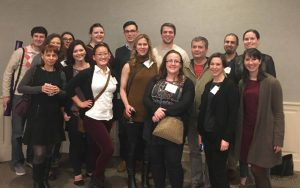 Kendall, Criss, Derre, and Agaisse labs representing at the 2017 Mid-Atlantic Microbial Pathogenesis Meeting.