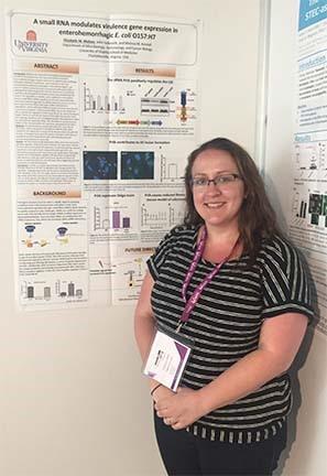 Beth represents at the VTEC (Verotoxin E. coli) meeting in Italy!