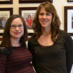 Laura receives the 2015 Robert R. Wagner Award for outstanding research in the MIC department! Way to go, Laura!