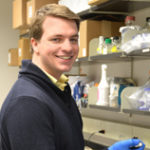 CJ Anderson, Kendall lab, has been awarded the Richard and Mary Finkelstein Student Travel Grant!